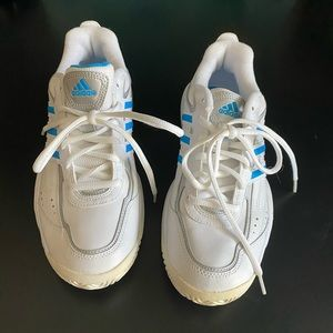 Adidas sneakers white and blue
